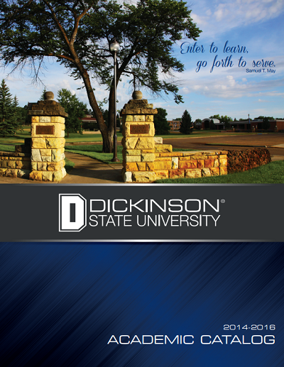 Dickinson 14-15 catalog cover